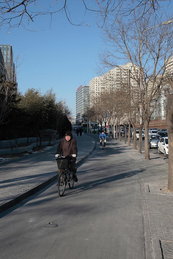 Nord-ouest de Pékin vers Xizhimen