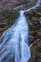 Jacob's Falls is located in the Upper Peninsula of Michigan near the small town of Eagle Harbor.