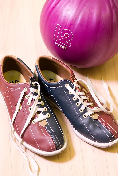Bowling shoes, ball and lane - KUKUBARA - Bowling Center ...