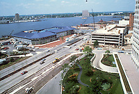 1983 April 18..Redevelopment.Downtown South (R-9)..WATERSIDE.CONSTRUCTION PROGRESS...NEG#.NRHA#..