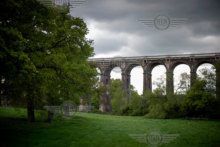 The Ouse Valley Viaduct (also called Balcombe Viaduct) near the village of Balcombe in West Sussex. It was built in 1841and is still used by up to 110 trains each day travelling on the London to Brighton line. /Felix Features
