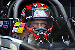 May 6, 2012; Commerce, GA, USA: NHRA top fuel dragster driver Doug Kalitta during the Southern Nationals at Atlanta Dragway. Mandatory Credit: Mark J. Rebilas-