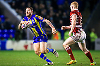 Picture by Alex Whitehead/SWpix.com - 09/03/2017 - Rugby League - Betfred Super League - Warrington Wolves v Wigan Warriors - Halliwell Jones Stadium, Warrington, England - Warrington's Daryl Clark in action.