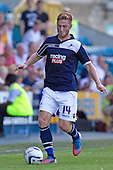 James Henry, Millwall FC in action - Millwall vs Blackpool - NPower Championship Football at the New Den, London - 18/08/12 - MANDATORY CREDIT: Ray Lawrence/TGSPHOTO - Self billing applies where appropriate - 0845 094 6026 - contact@tgsphoto.co.uk - NO UNPAID USE.