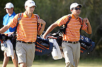 SAN ANTONIO, TX - October 17, 2010: The University of Texas at San Antonio Roadrunners host the Lone Star Invitational Golf Tournament at the Briggs Ranch Golf Club. (Photo by Jeff Huehn)