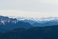 French Alps near Annecy, France