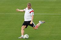 Bastian Schweinsteiger of Germany during training