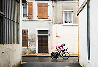 Picture by Alex Broadway/SWpix.com - 08/03/17 - Cycling - 2017 Paris Nice - Stage Four - Beaujeu to Mont Brouilly -Julien Simon of Confidis Solutions Credits competes in the Time Trial.