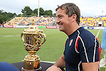 17 August 2013: <br />  The United States Men's National Rugby Team played the Canada Men's Nationa Rugby Team at Blackbaud Stadium in Charleston, South Carolina in the first leg of their 2015 Rugby World Cup Qualifying Series. Canada won the game 27-9.