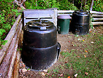 Composter recycling unit