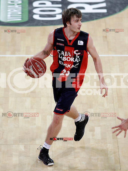 Caja Laboral Baskonia's David Jelinek during Spanish Basketball King's Cup match.February 07,2013. (ALTERPHOTOS/Acero)