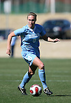 North Carolina's Whitney Engen on Saturday, March 3rd, 2007 on Field 1 at SAS Soccer Park in Cary, North Carolina. The Duke University Blue Devils played the University of North Carolina Tarheels in an NCAA Division I Women's Soccer spring game.