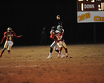 Lafayette High's Tevin Buford (11) defends vs. Louisville in MHSAA 4A playoff action at William L. Buford Field in Oxford, Miss. on Friday, November 18, 2011. Lafayette won 28-6 and will advance to play Amory.