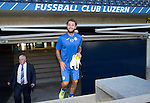 FC Luzern v St Johnstone...16.07.14  Europa League 2nd Round Qualifier<br /> Stevie May pictured at the Swissporarena ahead of tomorrow's game against FC Luzern<br /> Picture by Graeme Hart.<br /> Copyright Perthshire Picture Agency<br /> Tel: 01738 623350  Mobile: 07990 594431