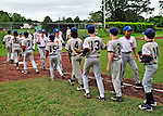 12 June 2011: The Burlington American Athletics win the South End Little League championship game defeating the BA Expos 6-3 at Calahan Park in Burlington, Vermont. Mandatory Credit: Ed Wolfstein Photo