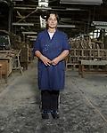 Mevlija Zahirović, line worker who has been employed for 15 years at Konjuh