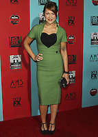HOLLYWOOD, LOS ANGELES, CA, USA - OCTOBER 05: Amber Nash arrives at the Los Angeles Premiere Screening Of FX's 'American Horror Story: Freak Show' held at the TCL Chinese Theatre on October 5, 2014 in Hollywood, Los Angeles, California, United States. (Photo by Celebrity Monitor)