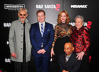 NEW YORK,NY November 015 : Billy Bob Thornton, Brett Kelly, Tony Cox, Christina Hendricks and Kathy Bates attend the 'Bad Santa 2' New York premiere at AMC Loews Lincoln Square 13 theater on November 15, 2016 in New York City...@John Palmer / Media Punch