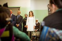 Queen Rania lof Jordan launches new school project - Jordan
