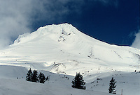 MOUNTAINS<br /> Mt. Hood, Highest Mountain In Oregon<br /> Mount Hood is a stratovolcano. There are numerous fumaroles emitting steam and other gases on the upper southwestern sides.