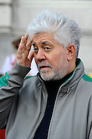 LONDON, ENGLAND - AUGUST 10: Pedro Almodovar attending the 'Julieta' screening at Somerset House in London on August 10, 2016 in London, England.<br />