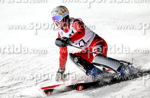 13.01.2015, Hermann Maier Weltcupstrecke, Flachau, AUT, FIS Weltcup Ski Alpin, Flachau, Slalom, Damen, 1. Lauf, im Bild Irene Curtoni (ITA) // Irene Curtoni of Italy in action during 1st run of the ladie's Slalom of the FIS Ski Alpine World Cup at the Hermann Maier Weltcupstrecke in Flachau, Austria on 2015/01/13. EXPA Pictures © 2015, PhotoCredit: EXPA/ Johann Groder