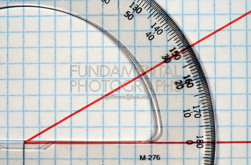 PROTRACTOR MEASURES 30' ANGLE<br />