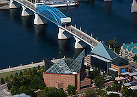 aerial photograph Tennessee Aquarium, Chattanooga, Tennessee
