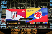 USMNT vs Colombia, Copa America Third Place, June 25, 2016
