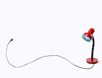 DESK LAMP W/CORD & PLUG