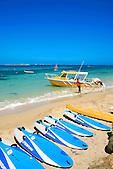 Taxi boat plage de l'Anse Vata, Nouméa, Nouvelle-Calédonie