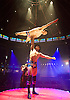 La Soiree<br /> at the La Soiree Spielgetent at Southbank Centre Winter Wonderland <br /> London, Great Britain <br /> press photocall <br /> <br /> 7th November 2014 <br /> <br /> The English Gents<br /> Denis Lock and Hamish McCann <br /> <br /> Photograph by Elliott Franks <br /> Image licensed to Elliott Franks Photography Services