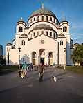 St. Sava Cathedral, Belgrade, Serbia<br /> <br /> One of the ten largest churches in the world, Temple St. Sava is built on Vračar hill, the location where his remains were burned in 1595 by Ottoman Grand Vizier Sinan Pasha to squelch a Serbian uprising in the 16th century.