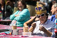 12.06.2016 - Queen's birthday: Patron's Lunch in Trafalgar Square
