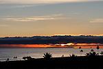 Sunsets of Orange County - Photo by Alan Mahood.