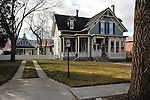 One of the many historic victorian homes in Salida. Michael Brands for The New York Times.