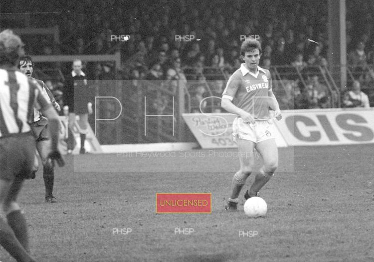 31/01/81 Blackpool v Huddersfield League Divsion 3.....© Phill Heywood.