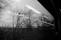 Boston to New York train, 2014