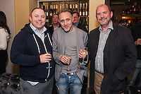 Pictured from left are Daniel Whyld, Shaun Pritchard and Robert Day