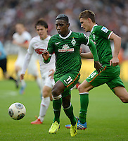 Fussball  1. Bundesliga  Saison 2013/2014  8. Spieltag VfB Stuttgart - SV Werder Bremen     05.10.2013 Eljero Elia (SV Werder Bremen) am Ball