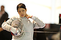 Norika Tamura (JPN), OCTOBER 15, 2011 - World Teams Fencing Championship Catania 2011, Women's Sabre at Palaghiaccio, Catania, Italy, (Photo by Enrico Calderoni/AFLO SPORT) [0391]