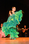 Gabriela Granados performs with her company Tablao Flamenco