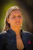 February 18th 2010. Bruna Schmitz (BRA)  Free surfing at Snapper Rocks, Coolangatta, Queensland, Australia.Photo: Joliphotos.com