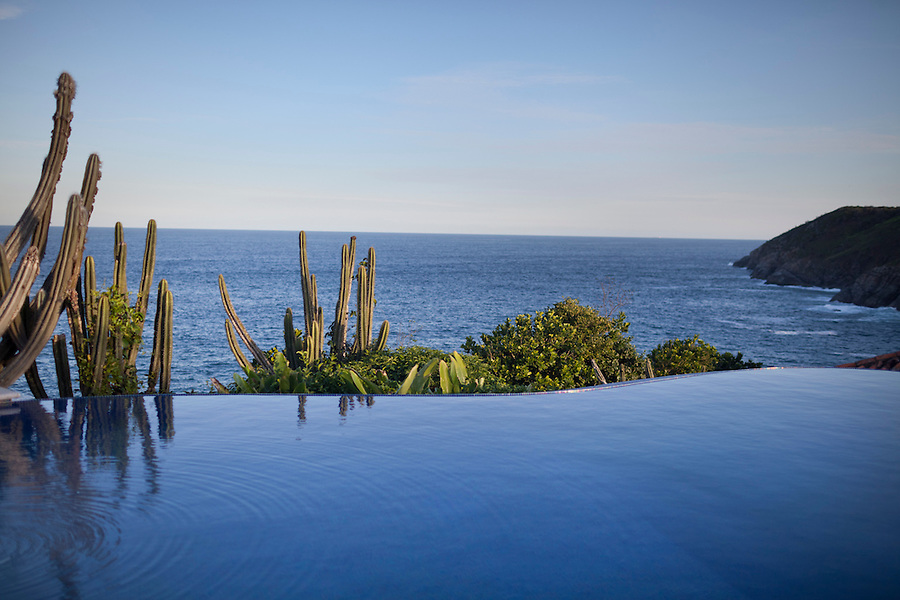 Infinity pool at Cliffside Villa.