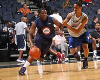 Carlton Brundidge at the NBPA Top100 camp June 17, 2010 at the John Paul Jones Arena in Charlottesville, VA. Visit www.nbpatop100.blogspot.com for more photos. (Photo © Andrew Shurtleff)