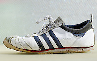 Worn Adidas Cup 68 Trainer - Mar 2012