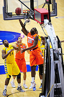 Rakeem Christmas of the Orange gets a reverse layup. Syracuse defeated Marquette 55-39 during the NCAA East Regional Final at the Verizon Center in Washington, D.C. on Saturday, March 30, 2013. Alan P. Santos/DC Sports Box