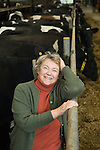 Mary Mead Yeo Valley farm Somerset England 2008.
