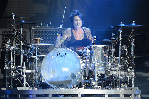 ALBUQUERQUE NM - AUGUST 7:  Tommy Lee of Motley Crue performs at the Hard Rock Casino Albuquerque on August 7, 2012 in Albuquerque, New Mexico. Credit: MediaPunch Inc.
