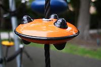 playground orange disc